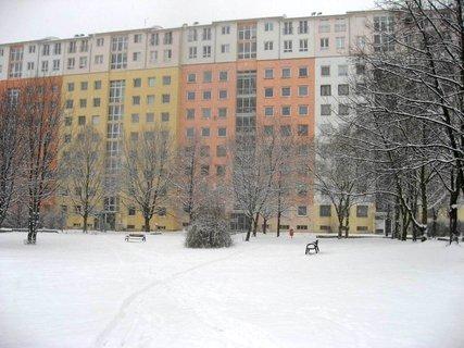 FOTKA - Zima na sídlišti 63