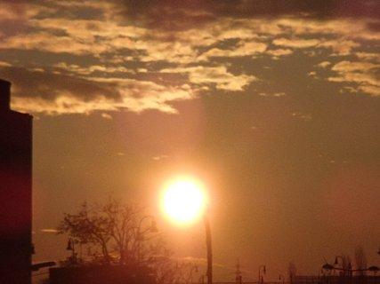 FOTKA - východ slnka 04.02.2013