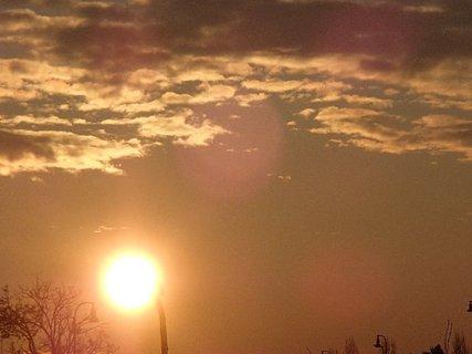 FOTKA - slnko rýchle vychádzalo