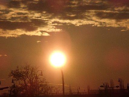 FOTKA - východ slnka 04.02.2013e