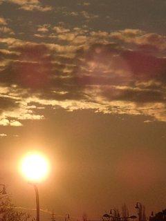 FOTKA - východ slnka 04.02.2013h