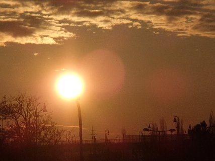 FOTKA - východ slnka 04.02.2013i