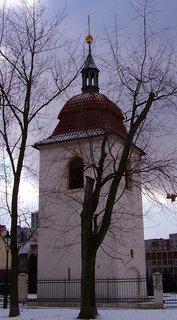 FOTKA - 21.2.2013, věž kostela Sv. Pankráce..