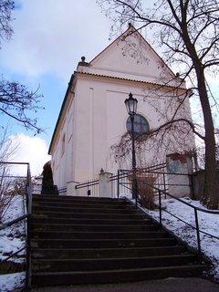 FOTKA - 21.2.2013, zadní část kostela