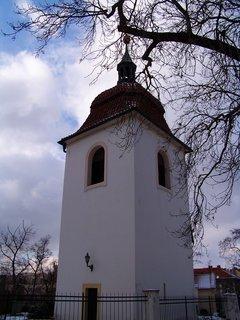 FOTKA - 21.2.2013, věž kostela, Pankrác..