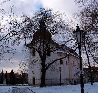 FOTKA - 21.2.2013, pohled na kostel..