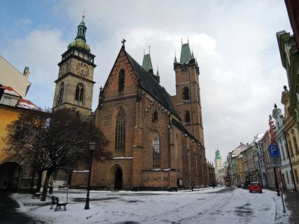 FOTKA - chrám sv. Ducha a Bílá věž a náměstí papeže Pavla II