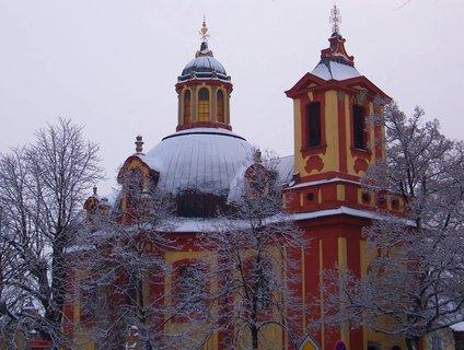 FOTKA - včerejší procházka 22.2.13, kostel v Kunraticích