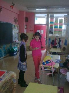 FOTKA - Sandra v škole