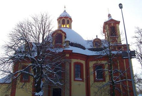 FOTKA - 24.2.2013, kostel v Kunraticích