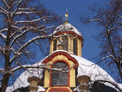 FOTKA - 24.2.2013, hlavní věž kostela..