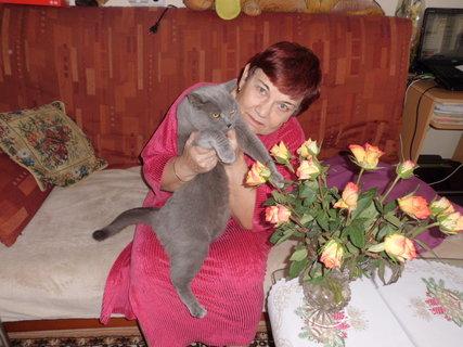 FOTKA - ještě jedna s růžičkama a Mazlíkem