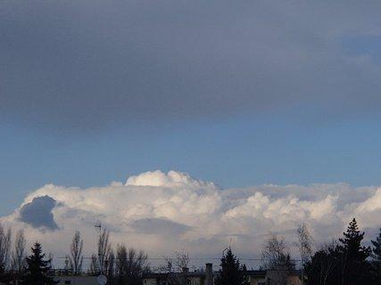 FOTKA - včerajšie mraky..