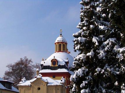 FOTKA - 24.2.13, včerejší sněhová nadílka..