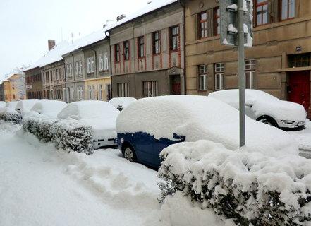 FOTKA - Sníh ve městě