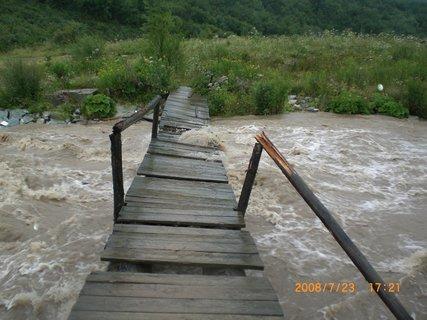 FOTKA - Slovensko, když se potok rozvodní...8