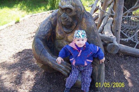 FOTKA - Domík a gorila - květen 2007