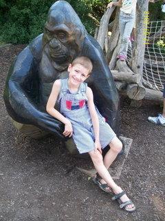 FOTKA - Domík a gorila - červen 2012