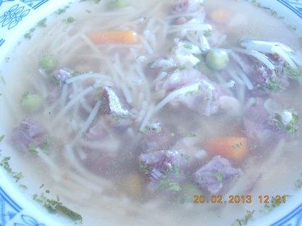 FOTKA - 20.2. - 21.2. - 2 - hovězí polévka