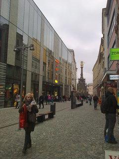 FOTKA - Nový obchodní dům v Olomouci