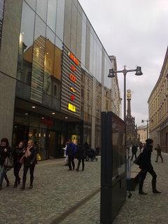 FOTKA - Nový obchodní dům v Olomouci 2