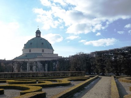 FOTKA - 2. 3.13 -v Květné zahradě v Kroměříži