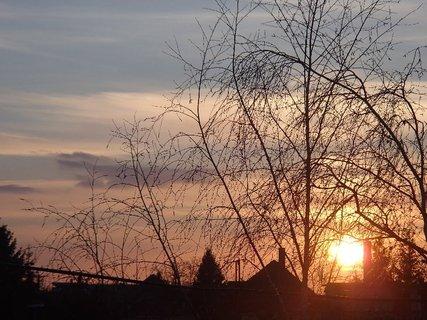 FOTKA - západ slnka 20.02.2013