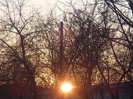 FOTKA - západ slnka 20.02.2013a