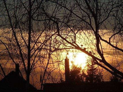FOTKA - západ slnka 25.02.2013