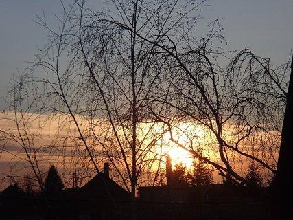 FOTKA - západ slnka 25.02.2013a