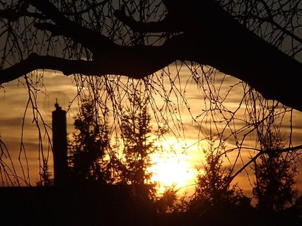 FOTKA - západ slnka 25.02.2013c