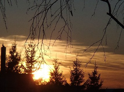 FOTKA - západ slnka 25.02.2013e