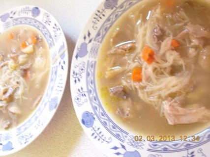 FOTKA - 2.3. - 4.3. - 14 - polévka z mladého kohouta