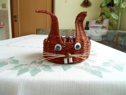 FOTKA - zajíčkův košíček