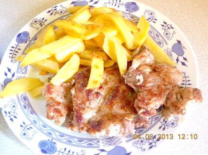 FOTKA - 4.3. - 5.3. - 7 - vařím oběd - rychlovku - můj talíř