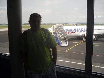 FOTKA - na letišti