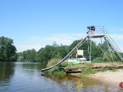 FOTKA - tobogán na Lužnici - příprava k akci