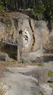 FOTKA - Stvořidla, Sázava - i skály mají uši