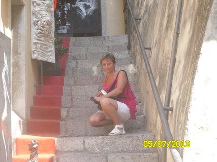 FOTKA - ulička v taormine1