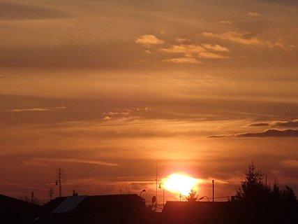 FOTKA - západ slnka 01.03.2013a