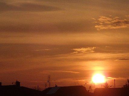 FOTKA - západ slnka 01.03.2013c