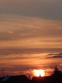 FOTKA - západ slnka 01.03.2013d