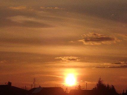 FOTKA - západ slnka 01.03.2013e