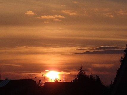 FOTKA - západ slnka 01.03.2013g