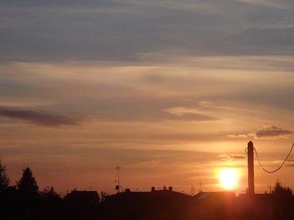 FOTKA - západ slnka 01.03.2013h