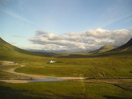 FOTKA - obzor, kdesi ve Skotsku...