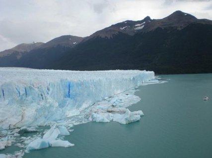 FOTKA - ledovec Perito moreno , 60 m, Patagonie