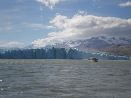 FOTKA - ledovec a lodička