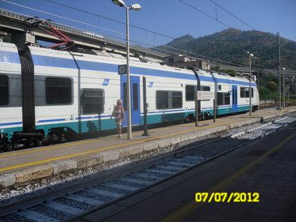FOTKA - italský vlak