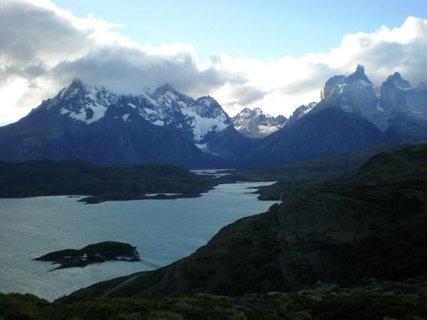 FOTKA - Torres del Paine, Argentina, počasí se pořád mění